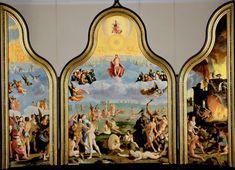 Triptych with the Last Judgement outer wings: Saints Peter and Paul, Lucas van Leyden, 1526 - 1527 - Rijksmuseum Rembrandt, Leiden, The Last Judgment, Saint Esprit, Web Gallery, Virtual Museum, European Paintings, Dutch Painters, Dutch Artists