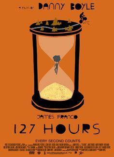 127 Hours #alternative #movie #art #poster #complex #illustration #film #creative