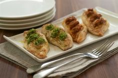 Roasted Chicken Breasts with Basil Pesto Recipe