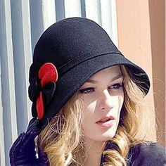 New Women'S Fashion Cloche Bowler Caps Wool Trilby Hat Bucket Hat Elegant Ladies Fedoras Hat Headwear From Jessiebee, $25.42 | Dhgate.Com