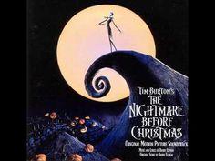 Nightmare before Christmas soundtrack