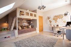 POKÓJ DZIECIĘCY - Duży pokój dziecka dla dziewczynki dla malucha, styl nowoczesny - zdjęcie od MARTA PERSKA studio projektowania wnętrz