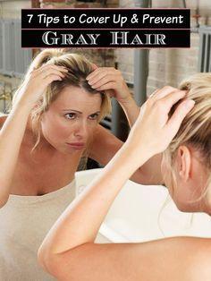 cover gray hair ideas
