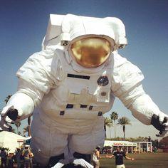 Poetic Kinetics' Astronaut at Coachella 2014 - Amazing