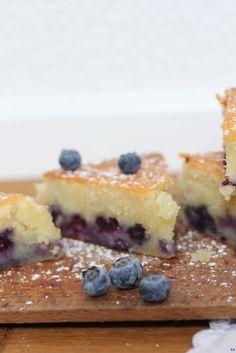 Almond & blueberries Cake :: Food