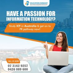 #studyvisa #visa Immigration Agent, Work In Australia, Information Technology, Understanding Yourself, Good Advice, Brisbane, Study, How To Get, Passion