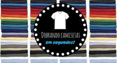 Organize sem Frescuras | Rafaela Oliveira » Arquivos » Como dobrar as camisetas em segundos