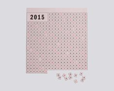 the Perforated Calendar 2015