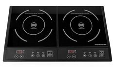 Andrew James Digital Electric Double Induction Hob 2800 Watts: Amazon.co.uk: Kitchen & Home