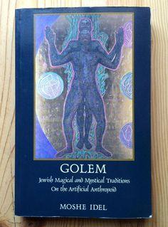 GOLEM Book Moshe Idel Jewish Magical Mystical Artificial Anthropoid Judaica 1989