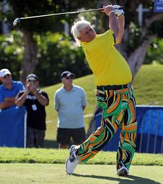 John Daly In Loudmouth Pants I Do Golf And I Would Wear