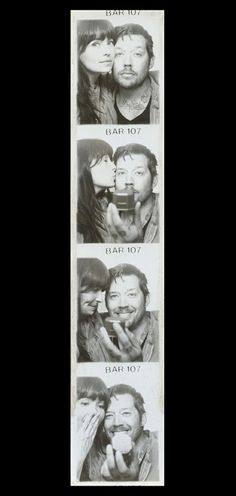 Say the magic words through photos in a photo booth proposal. A totally fun way to propose plus instant memorabilia of that fateful day!