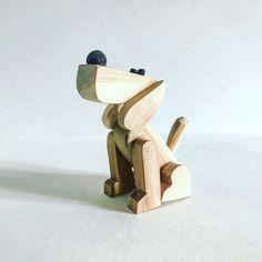 Деревянная игрушка сувенир Пёс Барбос - купить или заказать в интернет-магазине на Ярмарке Мастеров | Трогательный деревянный пёсик, выполненный из… Wood Carving Art, Wood Art, Toddler Toys, Kids Toys, Wooden Toy Wheels, Puppy Nursery, Wood Shop Projects, Wooden Cat, Wood Animal