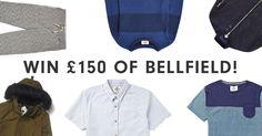 Win £150 of Bellfield Clothing