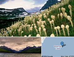 Bowman Lake Campground near Glacier National Park, Montana. One of the most remote and beautiful spots!