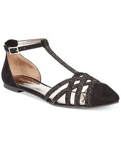 Report Bacall T-Strap Flats. Another great blacks shoe idea if you don't want to wear heels.