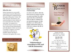 Volunteering at Senior Resources We Need You, Organization, Getting Organized, Organisation