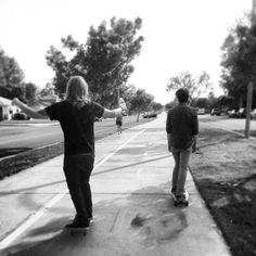 Kyle and Cameron cruuuuuiisin.