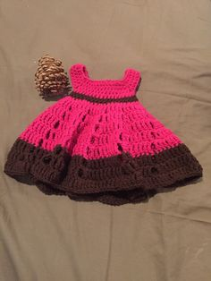 A personal favorite from my Etsy shop https://www.etsy.com/listing/229173438/pretty-in-pink-newborn-dress