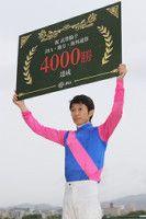 武豊騎手が通算勝を達成しました JRAでは初だそうですよ 本当にこの人は凄いですね()