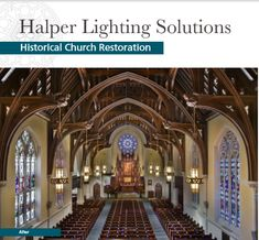 Blending the original architectural intent with cutting-edge technology, HLS recaptured the long lost structural and decorative beauty of this architectural gem. Lighting Solutions, Gem, Restoration, Bring It On, Lost, Technology, The Originals, Architecture, Beauty