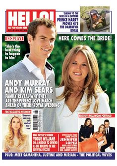 Issue 1374: Andy Murray and Kim Sears - Family reveal why they are the perfect love match