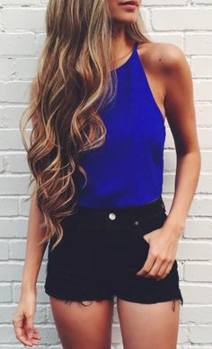 Love this top color and style if it was a bit longer