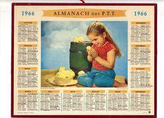 Calendrier 1977 Avec Les Jours.Les 62 Meilleures Images De Calendrier Ptt De 1960 A 1980