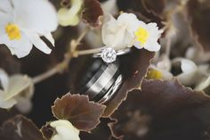 Mariners Museum Wedding | Newport News, Virginia | Wedding and engagement ring shot