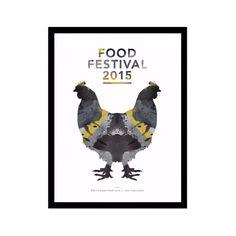 Voilà! Illustration fra vores Årets Kunstner 2015. @louevaldsen har lavet et enkelt og moderne udtryk, som stemmer godt overens med Food Festivals værdier. Vi håber, at I synes godt om illustrationen. På vores Facebook-side kan su læse mere om, hvordan du får fingrene i plakaten. #foodfestival15 #aarhus #madhyldest #louevaldsen #åretskunstner #illustration
