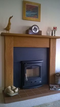 The Straight Oak sent in by Mrs Kerr. Finished in a medium oak all of our fire surrounds can be made to fit existing installations. Inglenook Fireplace, Fireplaces, Oak Fire Surround, Electric Fires, Fireplace Surrounds, Woodburning, Stoves, Solid Oak, This Is Us