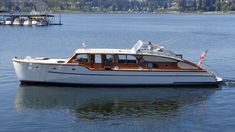 Best Boats, Cool Boats, Small Boats, Classic Wooden Boats, Deck Boat, Classic Yachts, Cabin Cruiser, Vintage Boats, Yacht Boat