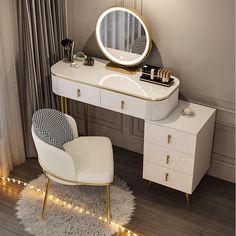 Dressing Table Organisation, Dressing Room Decor, Dressing Table Design, Room Ideas Bedroom, Bedroom Sets, Home Decor Bedroom, Luxury Rooms, Luxurious Bedrooms, Bedroom Furniture Design