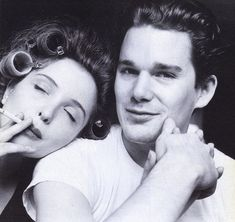 Julie Delpy & Ethan Hawke I adore these two people and their story about finding a soulmate in life