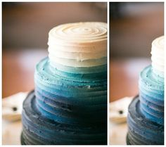 Bring the Spring In: 12 Pastel & Ombre Baby Shower Cakes   Disney Baby
