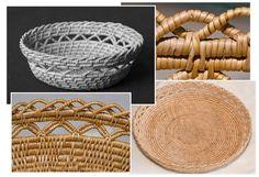 Sewn Root Basket / #rotkorg / Gunnel Eriksson