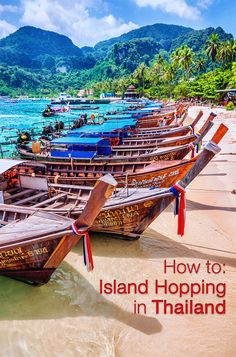 To: Island Hopping in Thailand Our travel experts tell you how to island hop in the picturesque nation of Thailand!Our travel experts tell you how to island hop in the picturesque nation of Thailand! Thailand Honeymoon, Thailand Travel, Asia Travel, Bangkok Travel, Phuket Thailand, Honeymoon Ideas, Places To Travel, Travel Destinations, Places To Visit