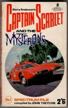 Captain Scarlet Armada Novel