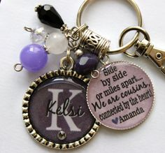Personalized Cousin gift name sister aunt daughter by TrendyTz, $25.99