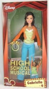 Image result for high school musical dolls gabriella and troy