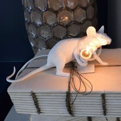 Mouse Lamp. Lying Down