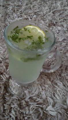 Mint from my garden. Mohito!