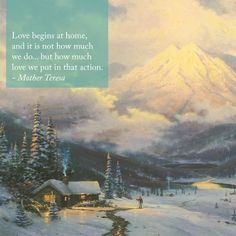 """Share the Light"" ""The Warmth of Home"" - Thomas Kinkade - 1992 Pretty Pictures, Art Pictures, Art Pics, Thomas Kinkade Art, Kinkade Paintings, Thomas Kincaid, Art Thomas, Sunday Inspiration, Fb Cover Photos"