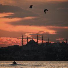Amazing view beautiful sky... Istanbul