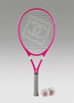 chanel tennisracket