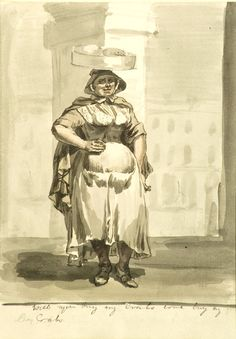 Highlights − Paul Sandby: Picturing Britain − On Now & Coming . 18th Century Clothing, 18th Century Fashion, Women Be Like, Slice Of Life, Working Class, Etchings, Working Woman, Gravure, Historical Clothing