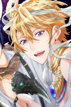 Shall We Date?:Wizardess Heart+: Elias Goldstein (Magic Trick or Treat) Hot Anime Boy, Cute Anime Guys, Anime Art Girl, Anime Oc, All Anime, Anime Stuff, Anime Shadow, Colors For Skin Tone, Shall We Date