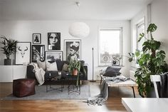 Scandinavian apartment | floorplan Follow Gravity Home: Blog - Instagram - Pinterest - Facebook - Shop