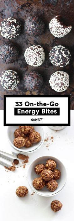 These balls are the perfect little boosts of energy. #healthy #energy #bites http://greatist.com/eat/energy-bites-recipes-for-on-the-go-snacking