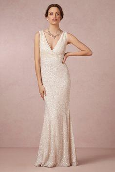 Rachel Gilbert ivory Candence Gown   BHLDN